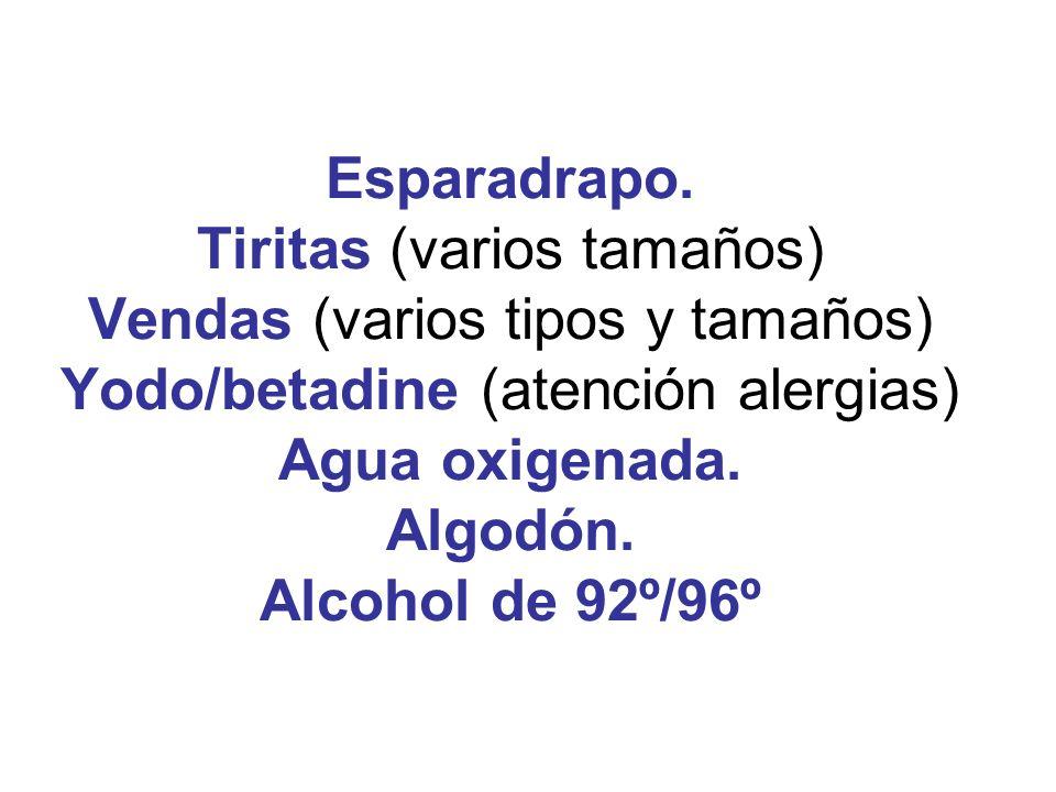 4.- HEMORRAGIAS Y VENDAJES.Tratar el shock. No comer ni beber nada.
