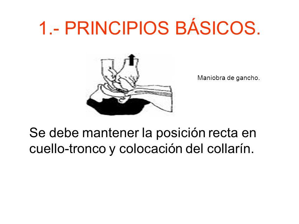 1.- PRINCIPIOS BÁSICOS.Maniobra de gancho.
