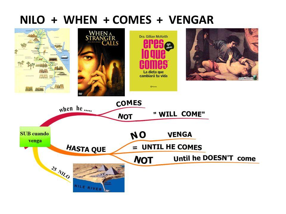 NILO + WHEN + COMES + VENGAR