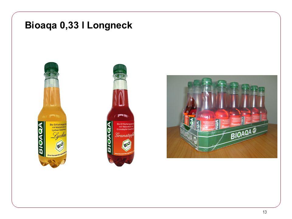 13 Bioaqa 0,33 l Longneck