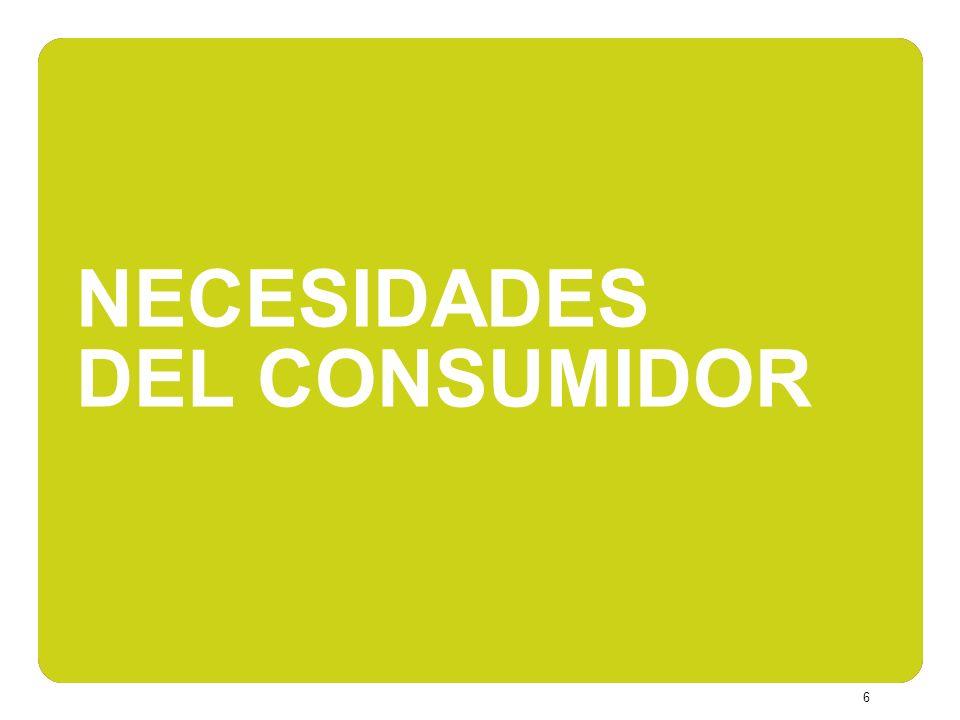 7 Alta relevancia de las bebidas orgánicas dentro de todas las categorías de producto.