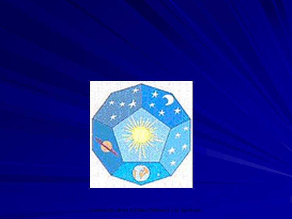 Los 5 Sólidos Platónicos y su significado. Construcción de los 5 Sólidos Platónicos y su significado.