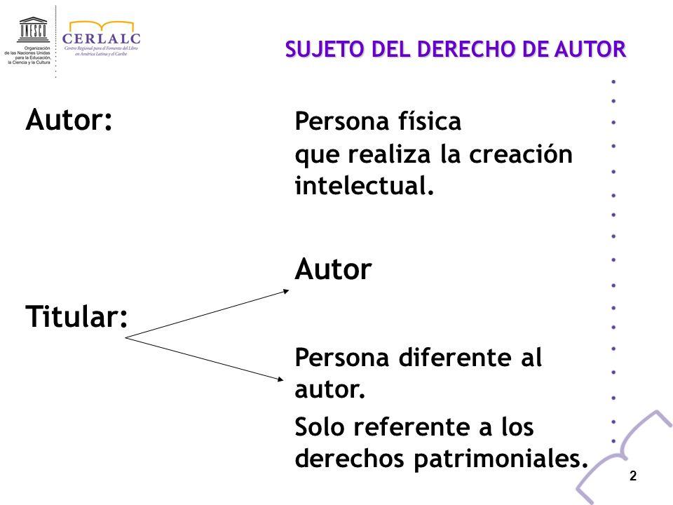 1 Presunción legal de transferencia de derechos sobre las obras realizadas por funcionarios públicos Fernando Zapata López Director Centro Regional pa