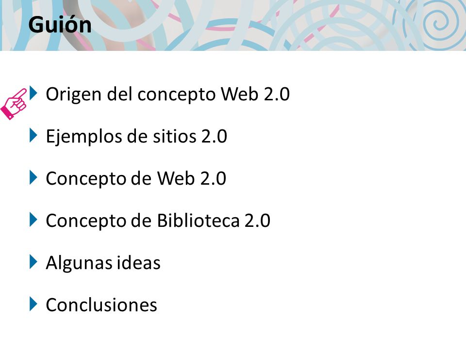 Biblioteca actual Biblioteca 2.0 Biblioteca Tradicional 1980 Biblioteca Actual 2009 Automatización Internet Cooperación Digitalización Web 2.0 Gestión de la calidad Marketing 34