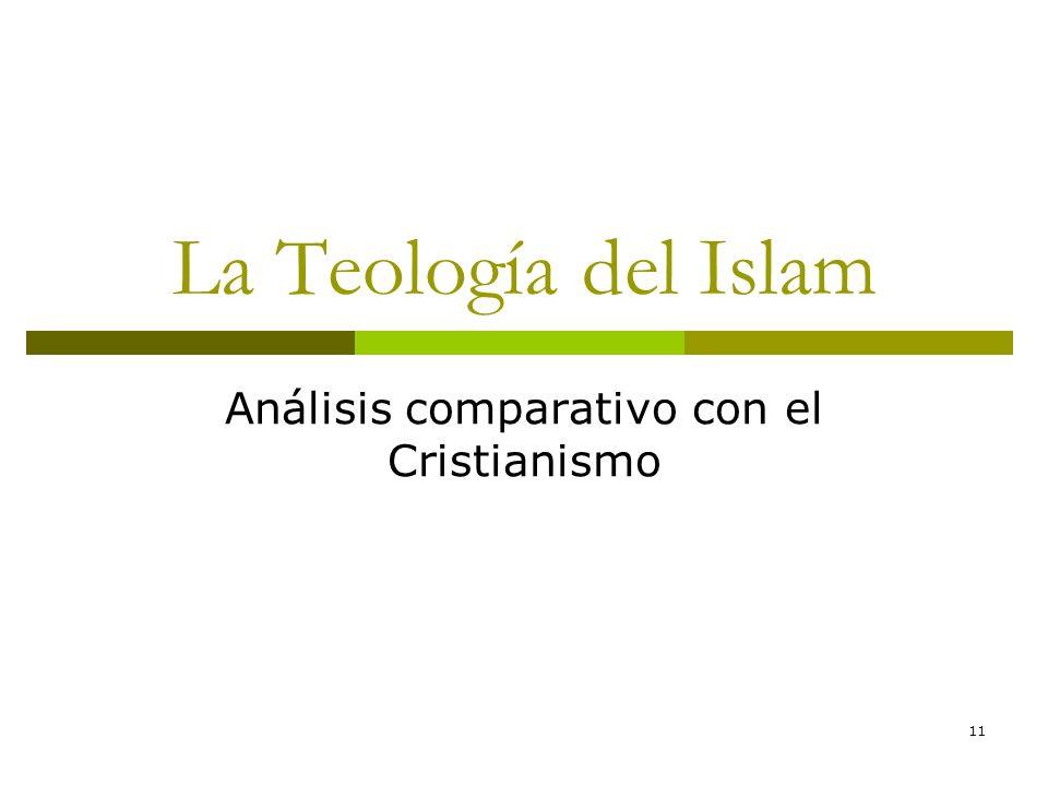 11 La Teología del Islam Análisis comparativo con el Cristianismo