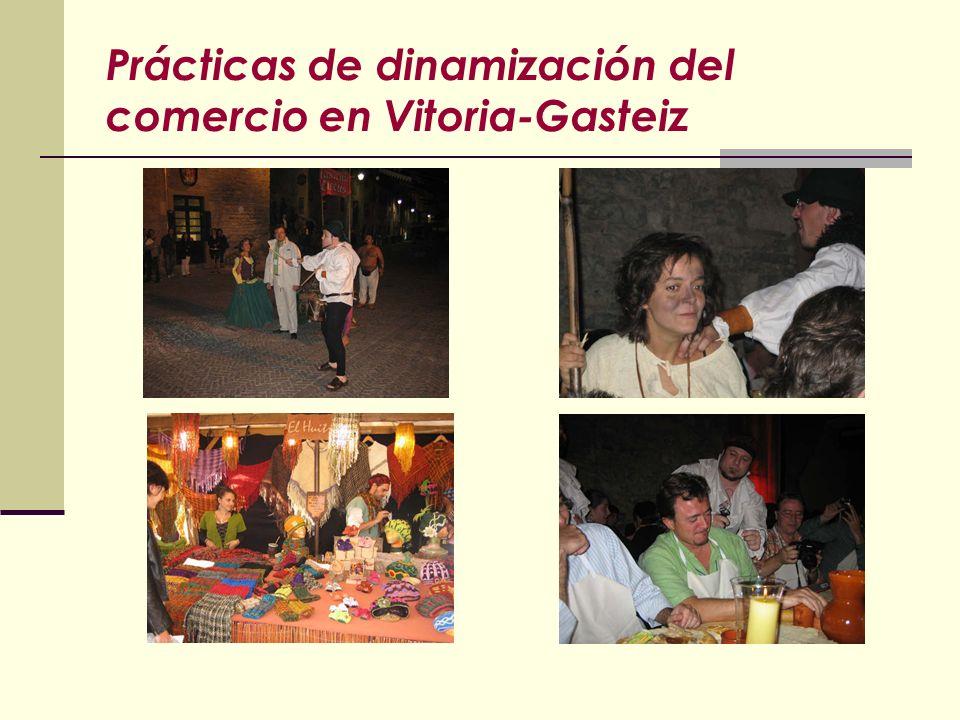 Prácticas de dinamización del comercio en Vitoria-Gasteiz