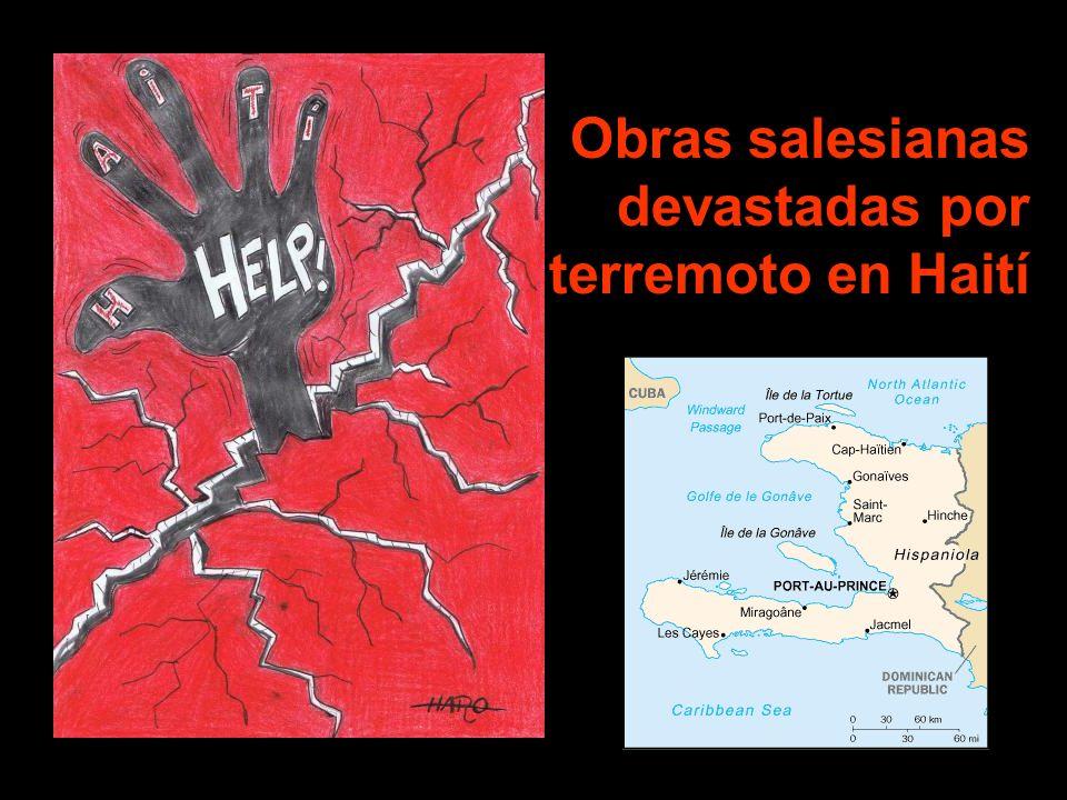 Obras salesianas devastadas por terremoto en Haití