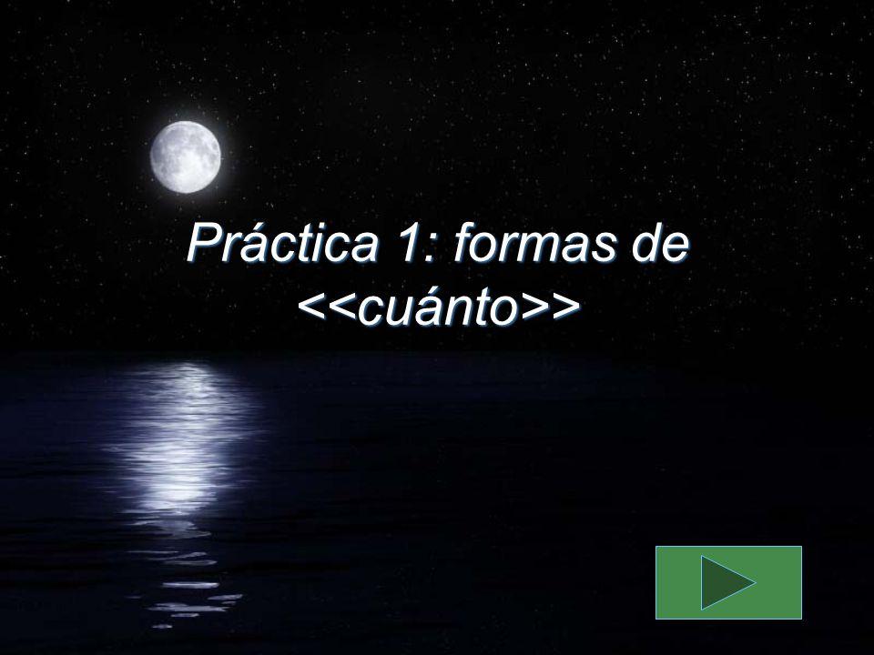 Práctica 1: formas de >