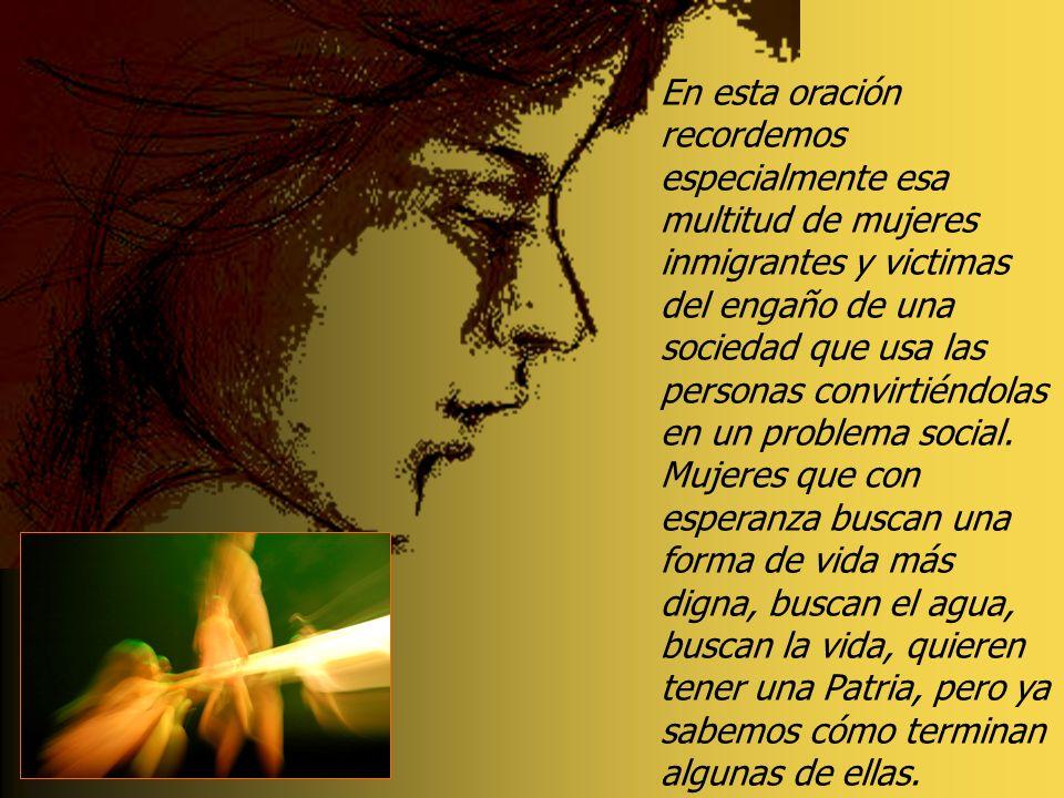 La realidad de la Samaritana revela la situación de tantas otras mujeres en todos los tiempos, mujeres victimas de la discriminación, de los prejuicio