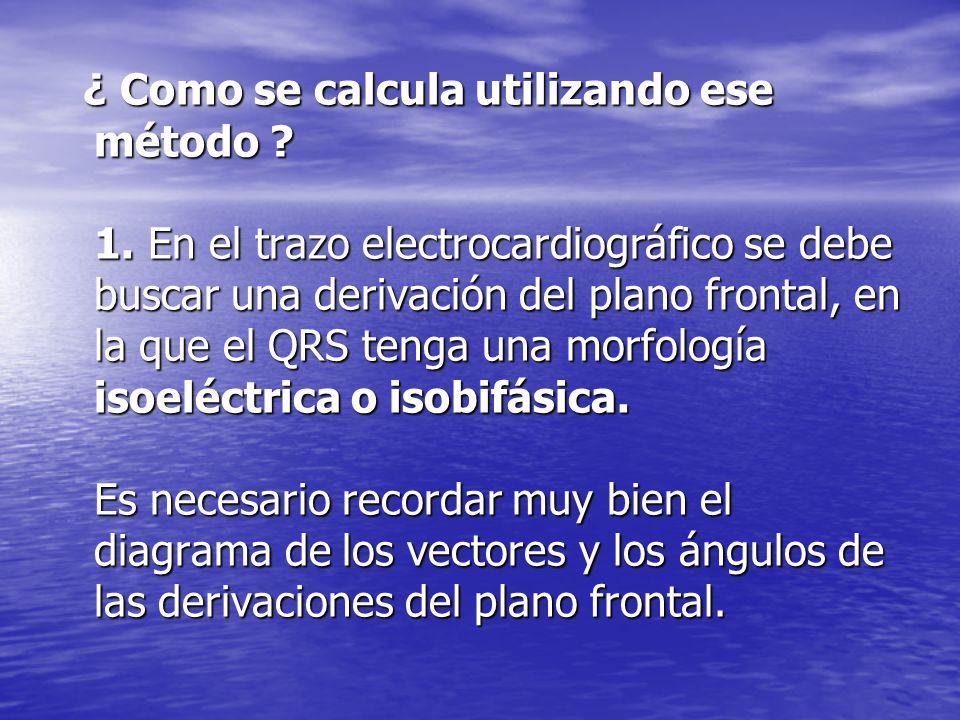 ¿ Como se calcula utilizando ese método . 1.