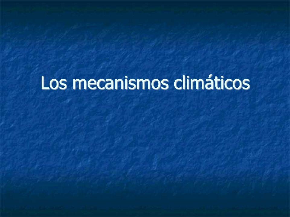 El efecto invernadero Luz Solar 50% 20% 100% 26% 4% Conducción, Evaporación Infrarrojos H2OH2O CO 2, CH 4, N 2 0 +15°C 390 Wm -2 Atrapados 153 Wm -2