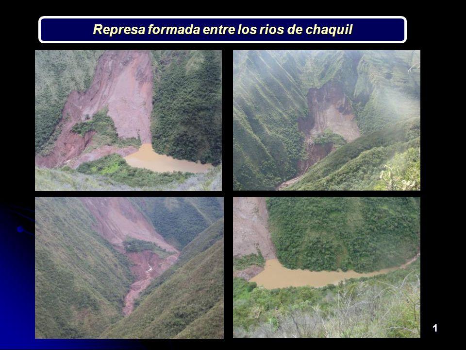 1 Represa formada entre los rios de chaquil
