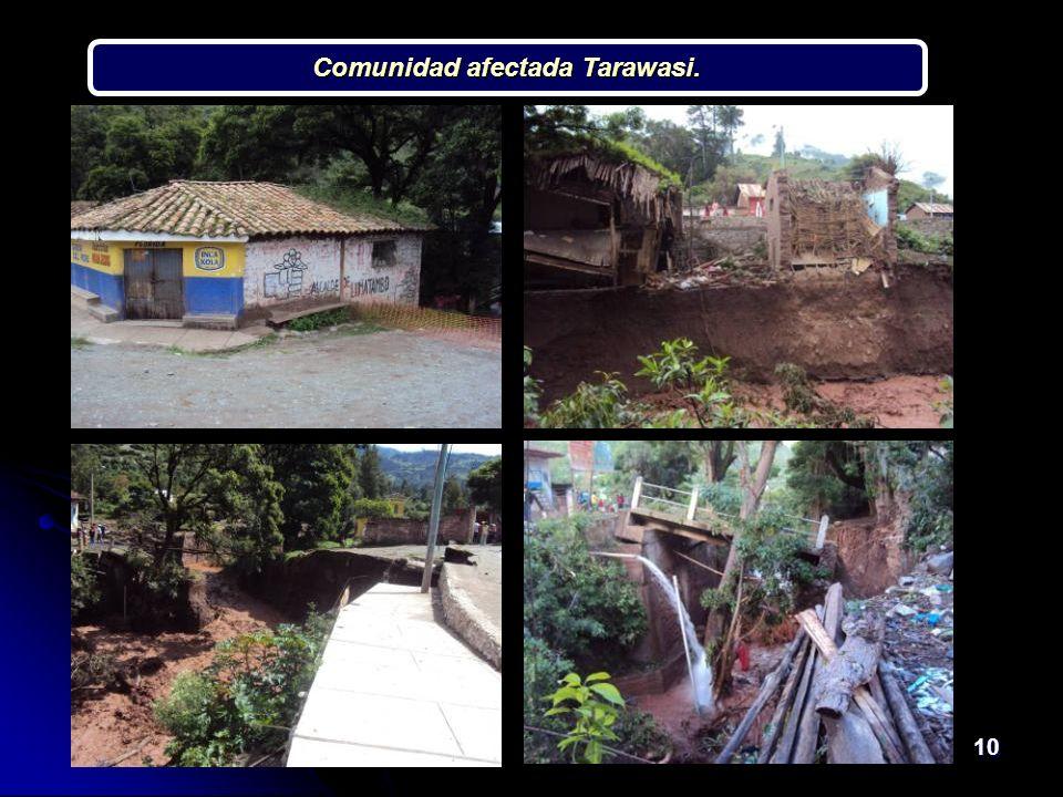 10 Comunidad afectada Tarawasi.
