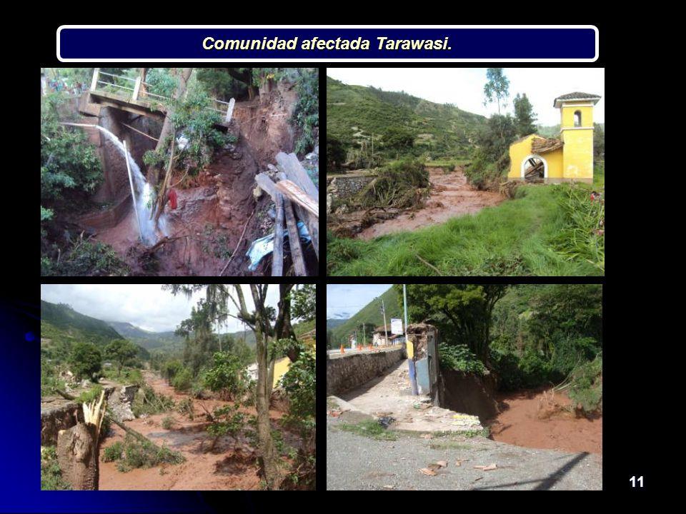 11 Comunidad afectada Tarawasi.