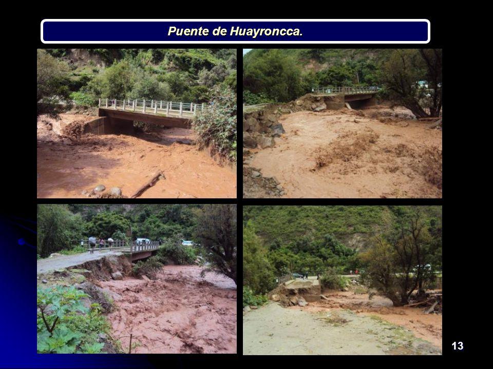 13 Puente de Huayroncca.
