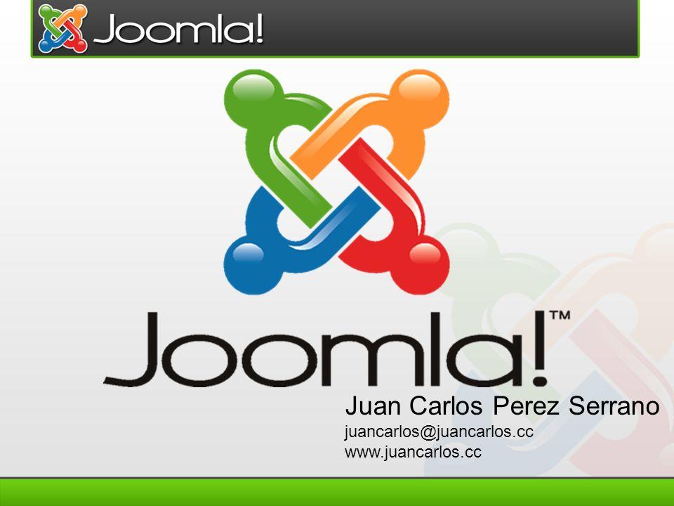 Juan Carlos Perez Serrano juancarlos@juancarlos.cc www.juancarlos.cc