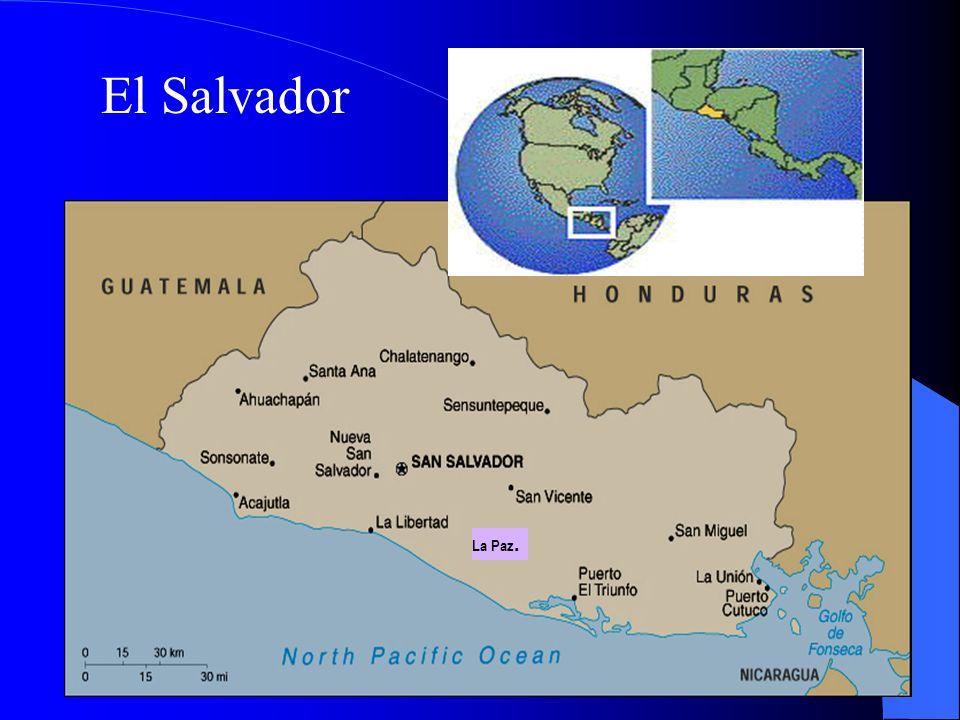 El Salvador La Paz.