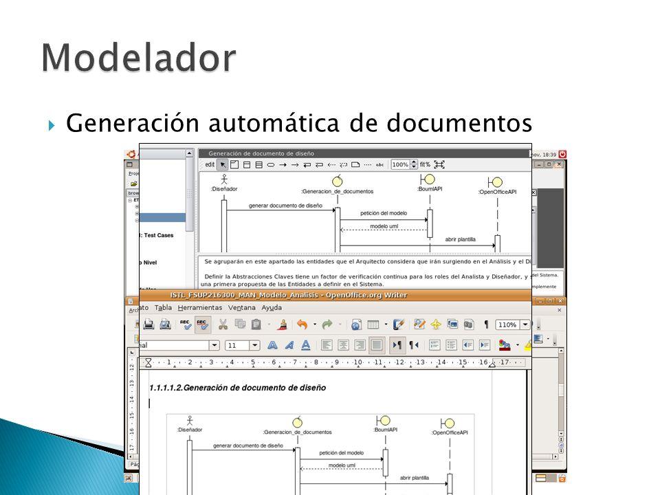 Generación automática de documentos