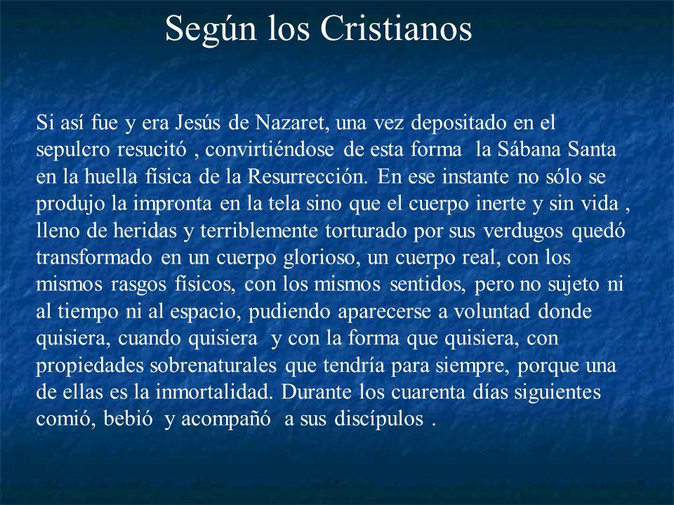 La Sábana Santa ha sido venerada por los cristianos desde hace más de 500 años, según ellos fue la Sábana que cubrió a Jesús de Nazaret en el sepulcro