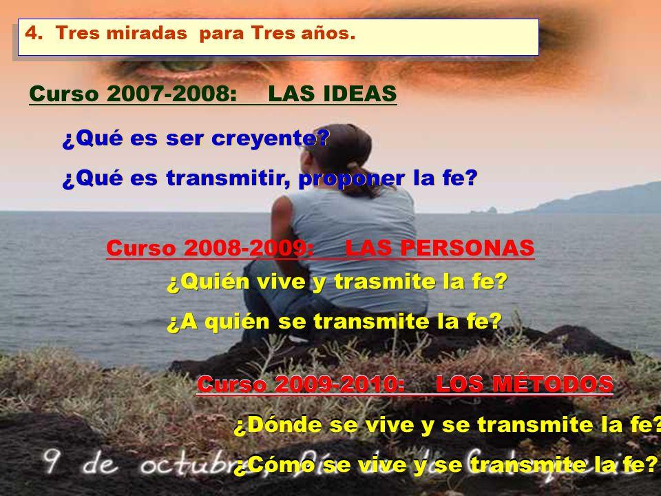 2 UNA CARTA PASTORAL DEL OBISPO LA FE SE FORTALECE DÁNDOLA. Para el Curso 2007-2008