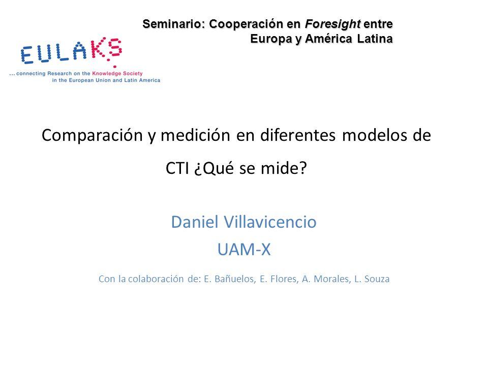 Comparación y medición en diferentes modelos de CTI ¿Qué se mide? Daniel Villavicencio UAM-X Con la colaboración de: E. Bañuelos, E. Flores, A. Morale