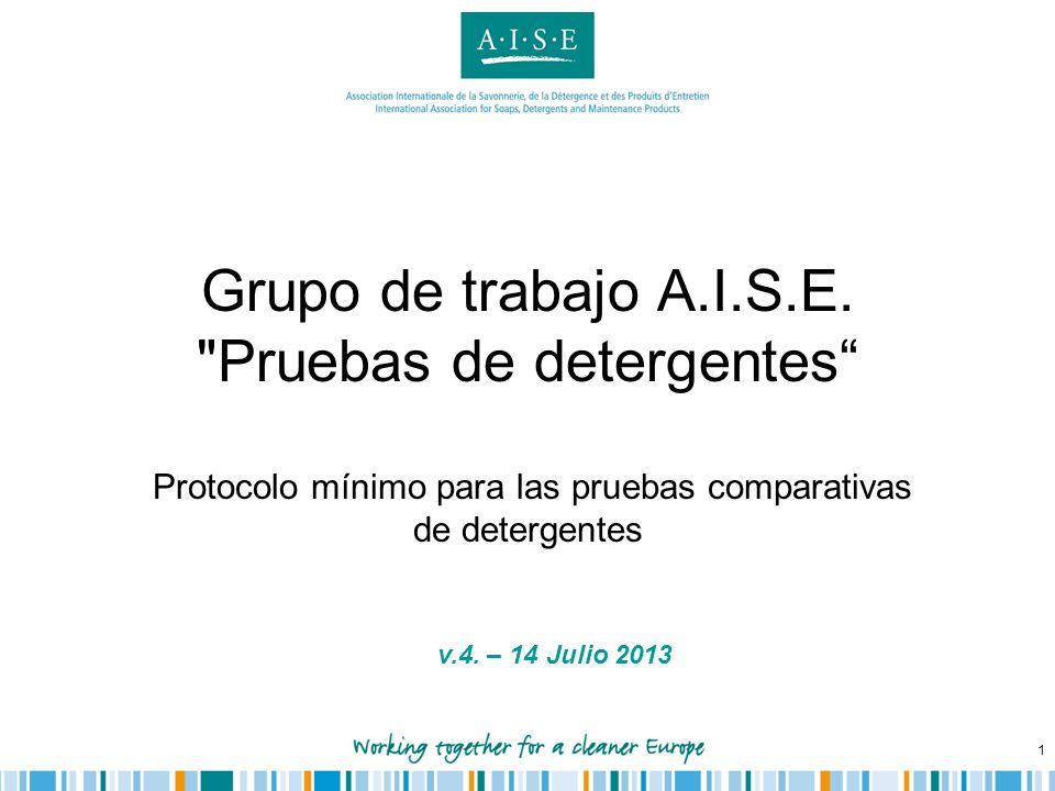 1 Grupo de trabajo A.I.S.E.