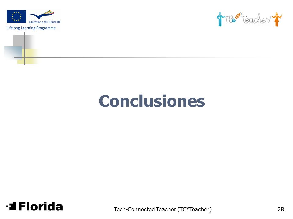 Tech-Connected Teacher (TC*Teacher)28 Conclusiones