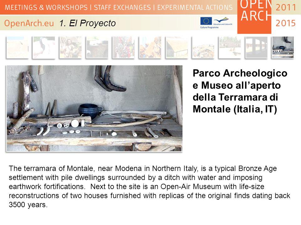 Parco Archeologico e Museo allaperto della Terramara di Montale (Italia, IT) The terramara of Montale, near Modena in Northern Italy, is a typical Bro