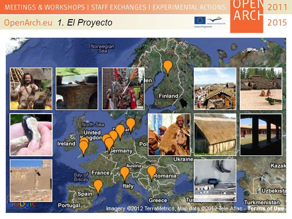 2.Orígenes 2007-2010 -Reuniones para debatir, preparar y ajustar la solicitud (Application Form).
