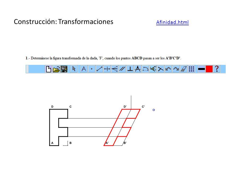 Construcción: Transformaciones Afinidad.html Afinidad.html
