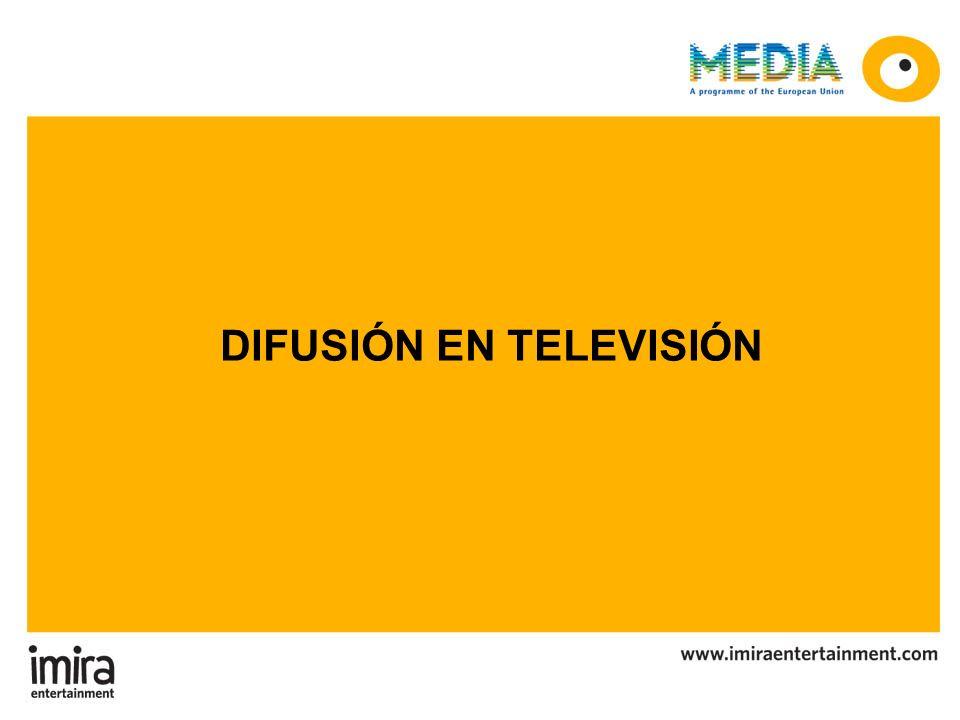 DIFUSIÓN EN TELEVISIÓN