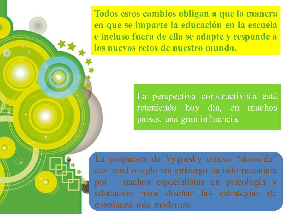 Powerpoint Templates Page 4 La propuesta de Vygotsky estuvo dormida casi medio siglo sin embargo ha sido rescatada por muchos especialistas en psicolo