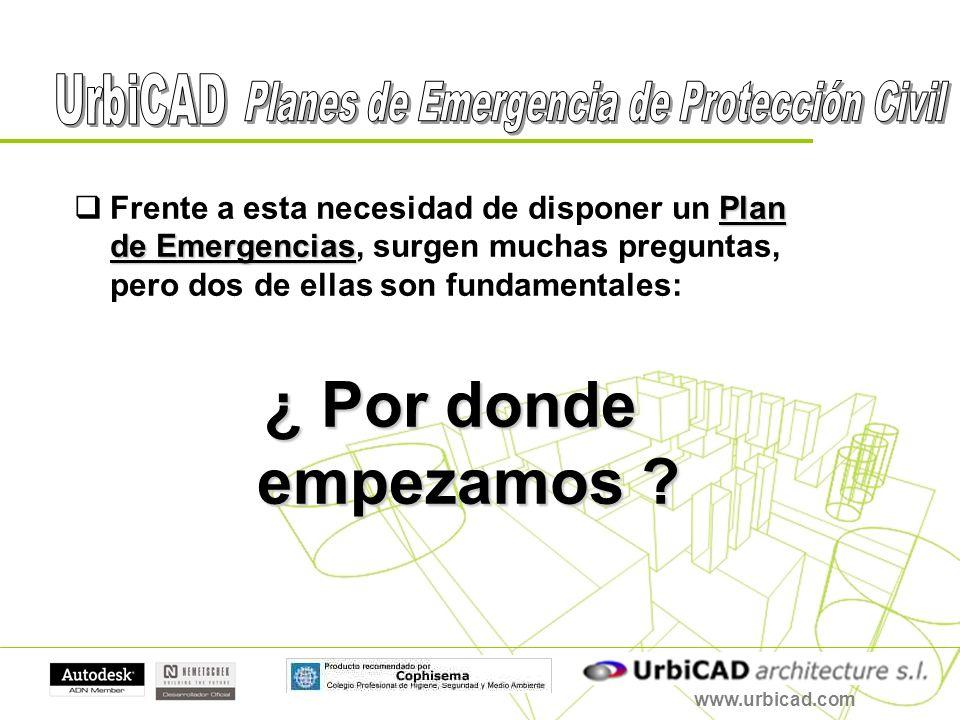 Plan de Emergencias Frente a esta necesidad de disponer un Plan de Emergencias, surgen muchas preguntas, pero dos de ellas son fundamentales: ¿ Por do