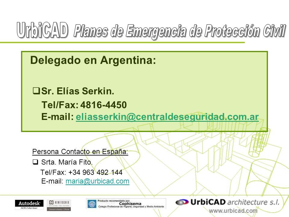 Delegado en Argentina: Sr. Elías Serkin. Tel/Fax: 4816-4450 E-mail: eliasserkin@centraldeseguridad.com.areliasserkin@centraldeseguridad.com.ar Persona