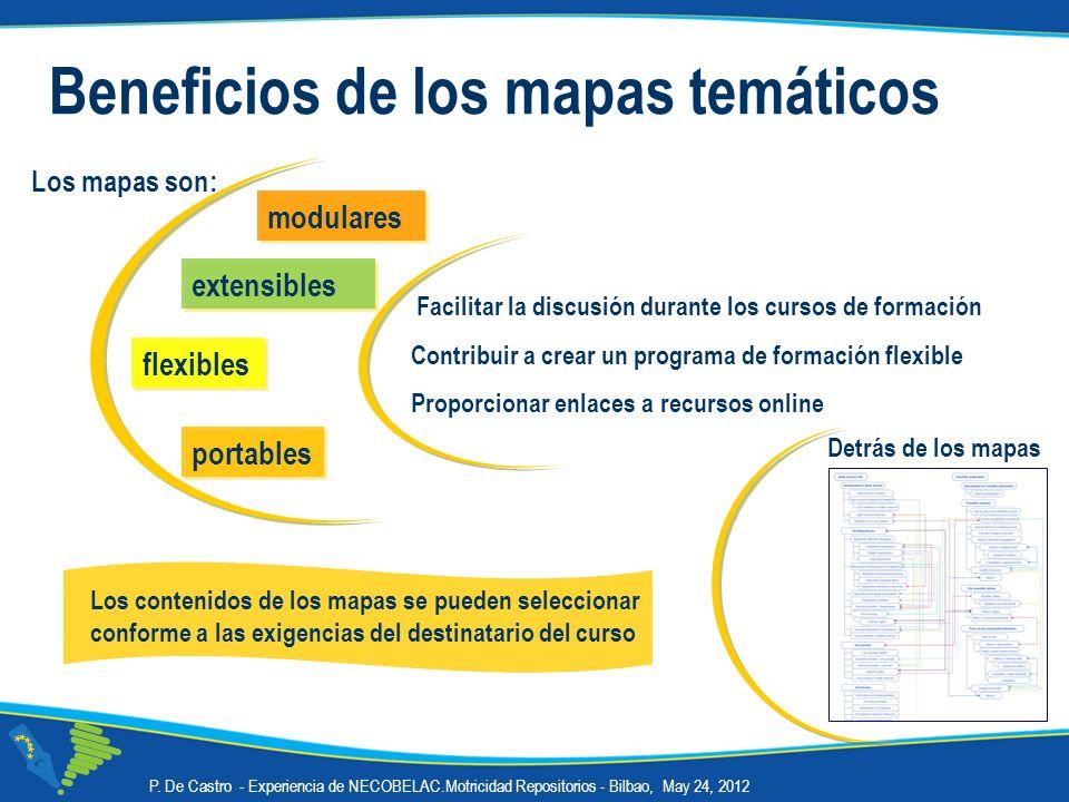 Detrás de los mapas Beneficios de los mapas temáticos Los mapas son: Los contenidos de los mapas se pueden seleccionar conforme a las exigencias del d