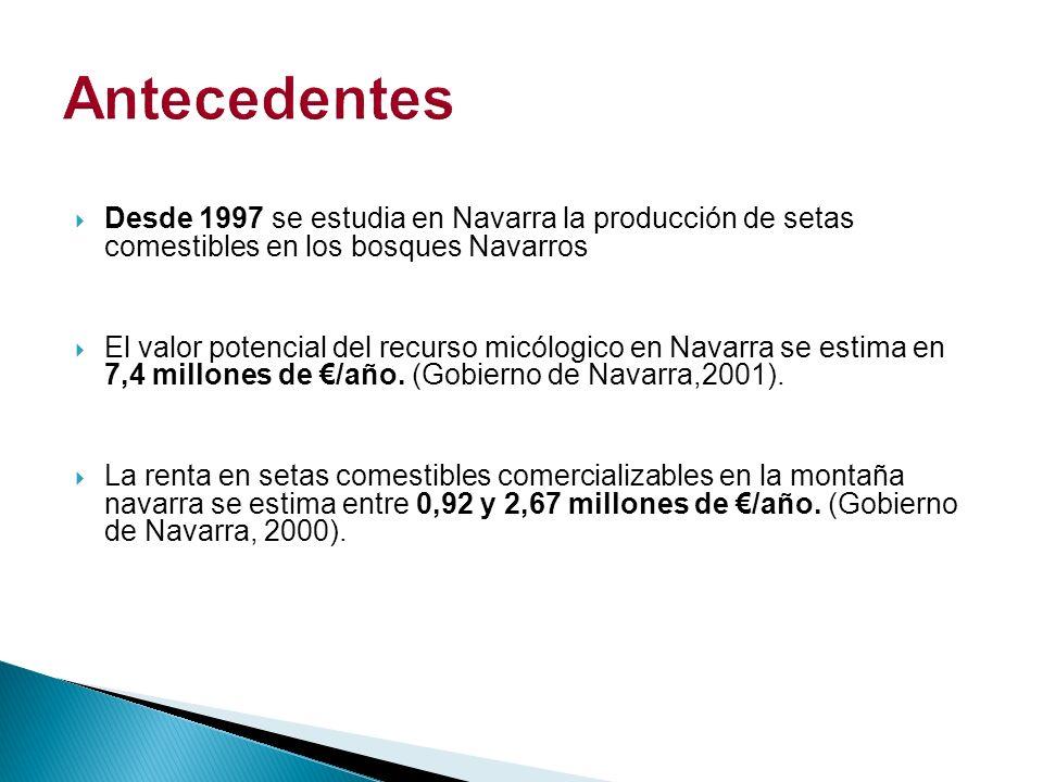 Poner en valor el recurso micológico en la montaña de Navarra.