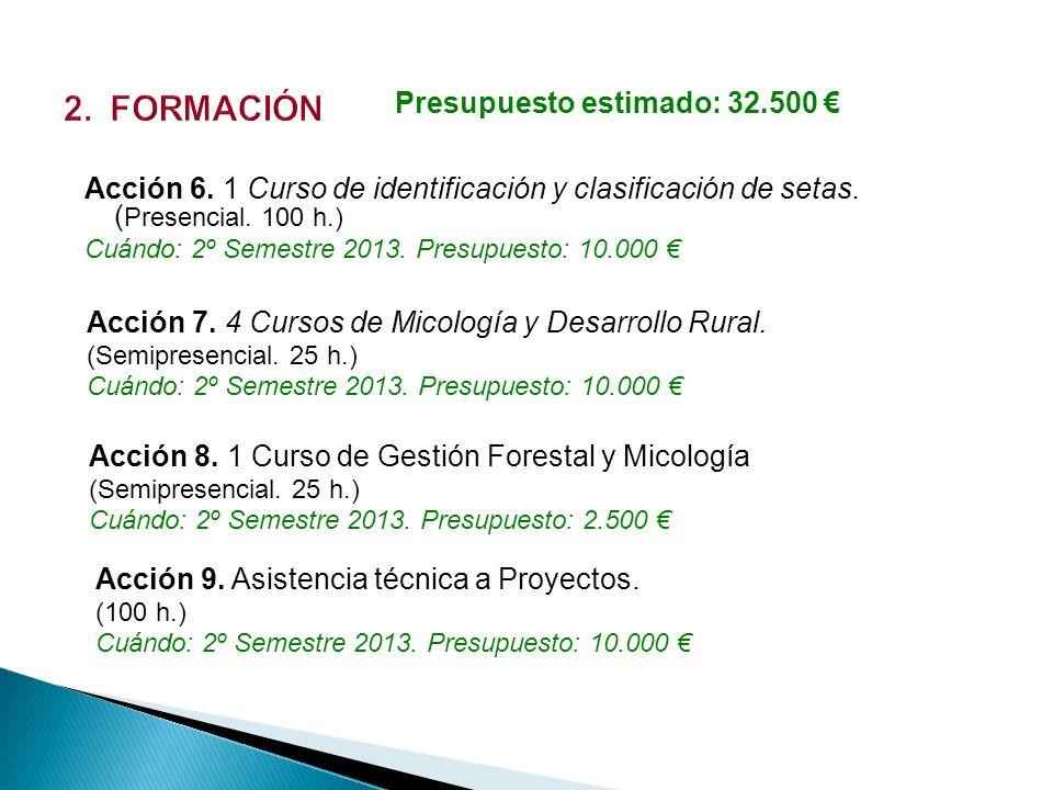 Acción 10.Congreso sobre micoturismo y sostenibilidad.