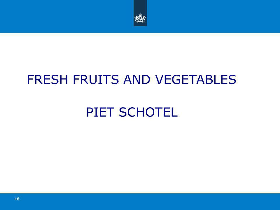 FRESH FRUITS AND VEGETABLES PIET SCHOTEL 18