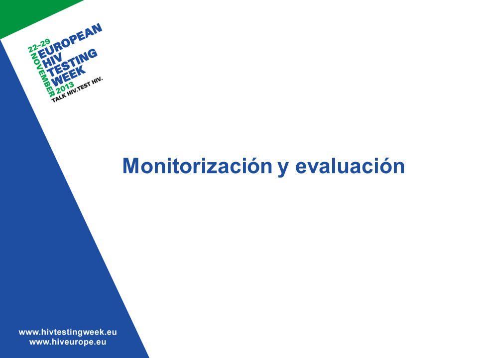 Monitorización y evaluación