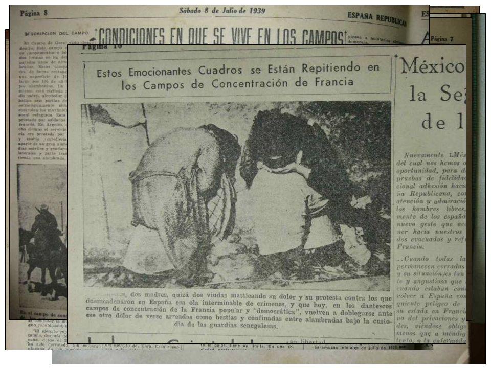 Mapa orientativo del exilio republicano español en Latinoamérica, 1939