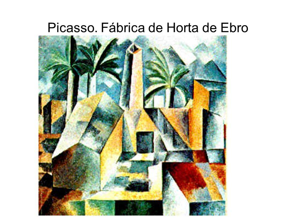 Picasso. Fábrica de Horta de Ebro