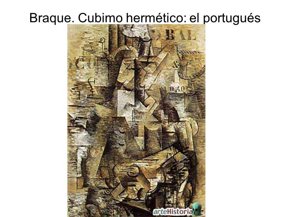 Braque. Cubimo hermético: el portugués