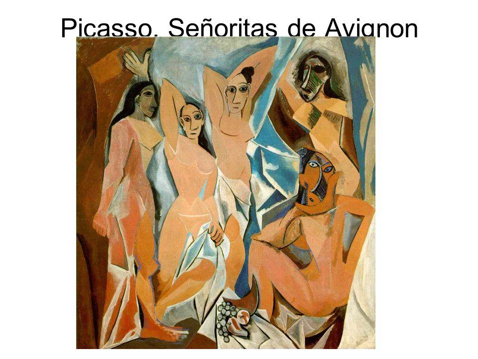 Picasso. Señoritas de Avignon