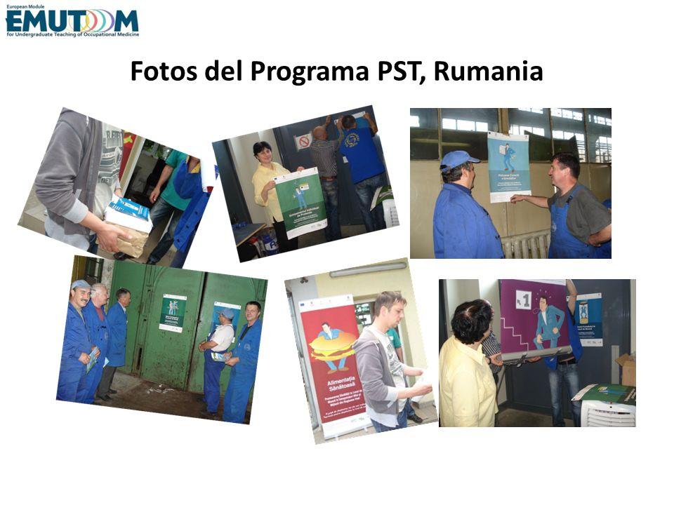 Fotos del Programa PST, Rumania