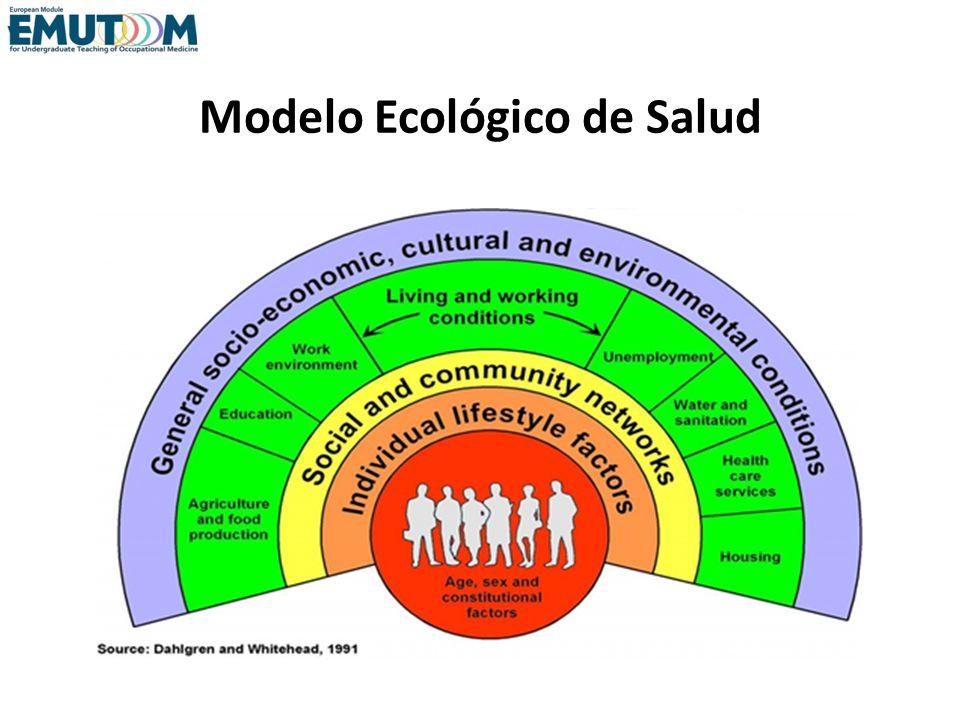 Modelo Ecológico de Salud