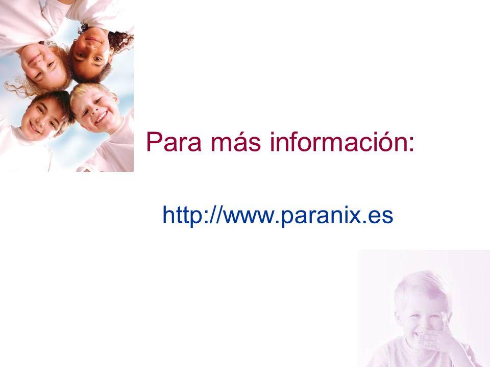 23 Para más información: http://www.paranix.es