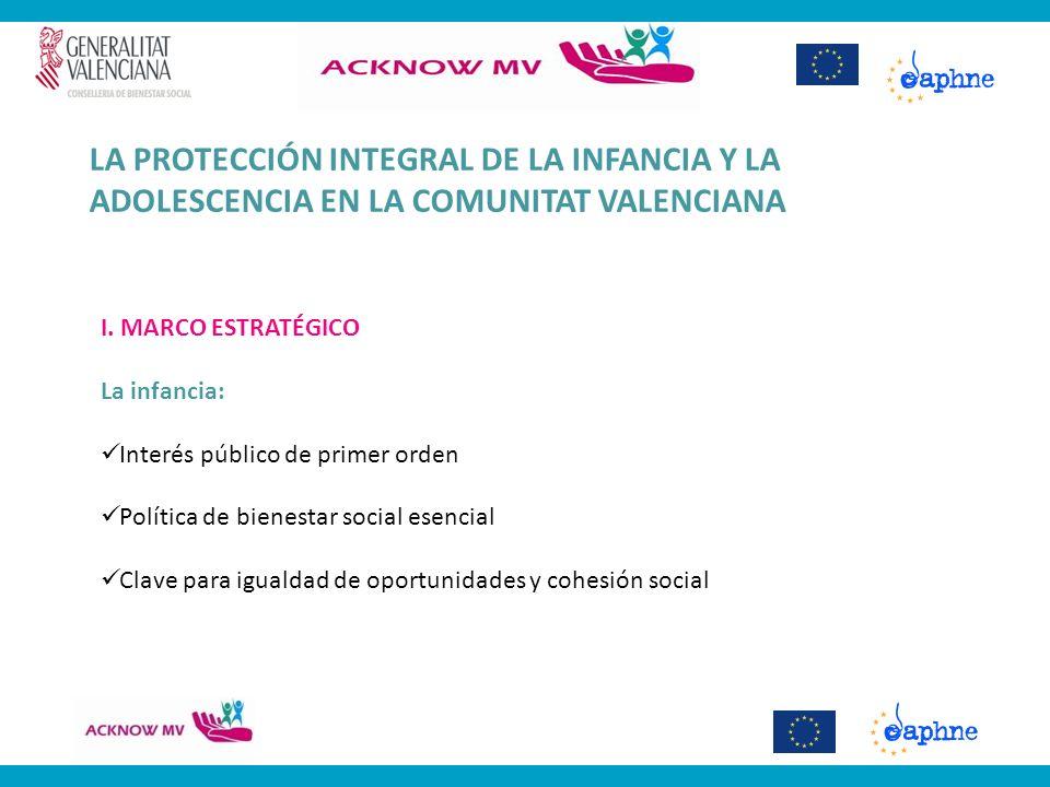 LA PROTECCIÓN INTEGRAL DE LA INFANCIA Y LA ADOLESCENCIA EN LA COMUNITAT VALENCIANA II.