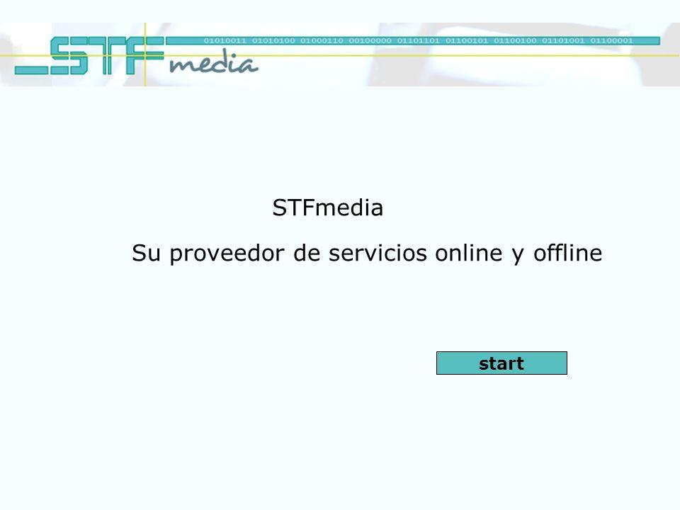 STFmedia Su proveedor de servicios online y offline start