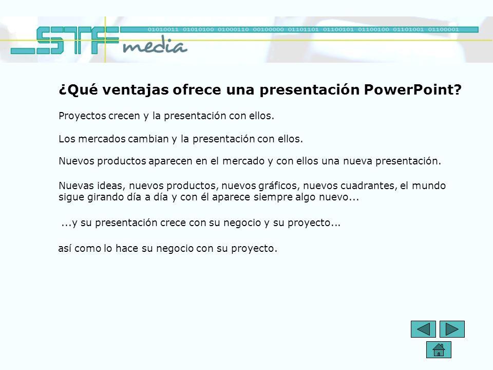 ¿Qué ventajas ofrece una presentación PowerPoint? Se ha demostrado científicamente que las personas prestan más atención a medios audio-visuales que a