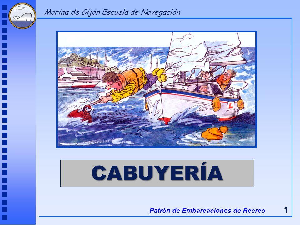 CABUYERÍA Patrón de Embarcaciones de Recreo 1 Marina de Gijón Escuela de Navegación